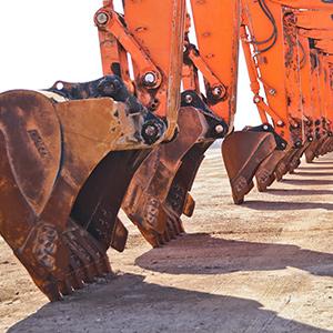 Heavy Equipment Backhoes
