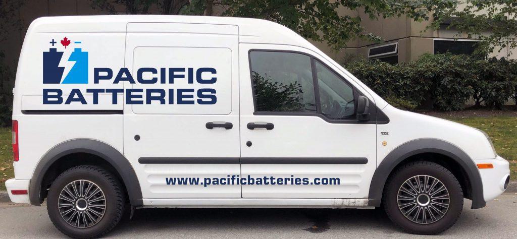 Pacific Batteries van