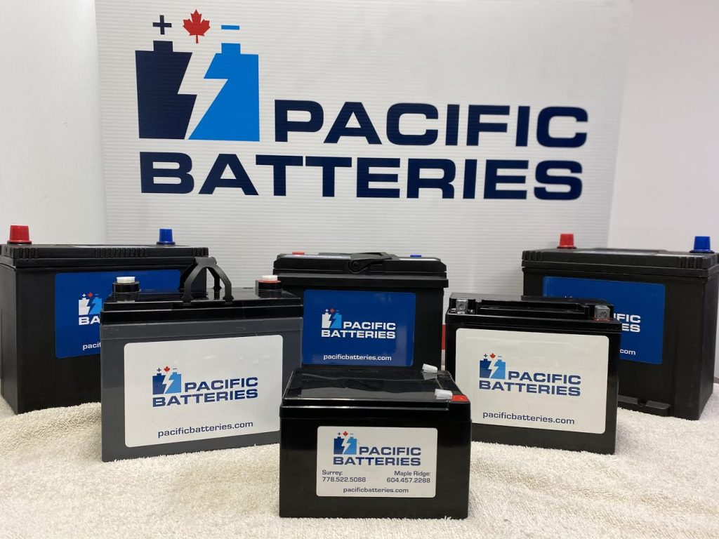 new and reconditioned batteries